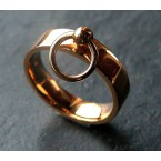 Ring der O 750er Gold 18 Karat